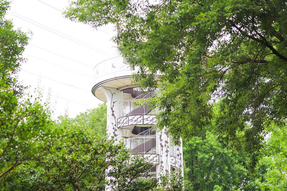 市民式の森 展望台
